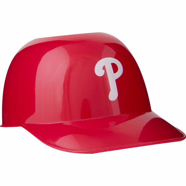 Philadelphia Phillies 8oz Ice Cream Sundae Baseball Helmet Snack Bowls
