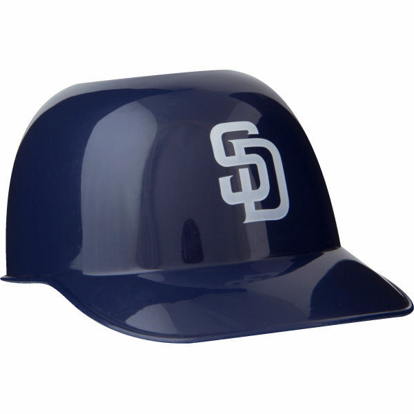 Set of 48 San Diego Padres 8oz Ice Cream Sundae Baseball Helmet Snack Bowls