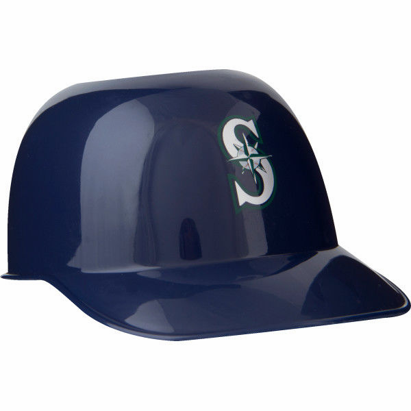 Set of 48 Seattle Mariners 8oz Ice Cream Sundae Baseball Helmet Snack Bowls