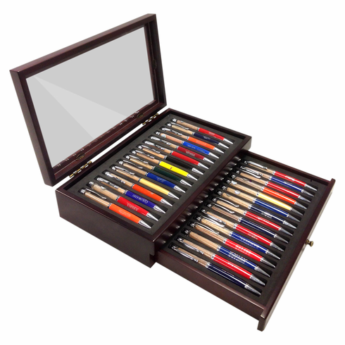 Set of all 30 MLB Team Dirt Pens with Case