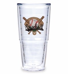 Set of Two 24 oz. Big-T Baseball Crossed Bats Tumblers by Tervis<br>ONLY 2 SETS LEFT!