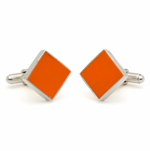 Shea Stadium Baseball Seat Cuff Links<br>ONLY 1 LEFT!