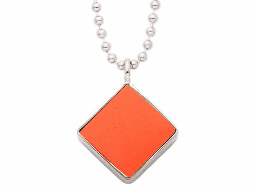 "Shea Stadium Seat Pendant with 18"" Chain<br>ONLY 1 LEFT!"