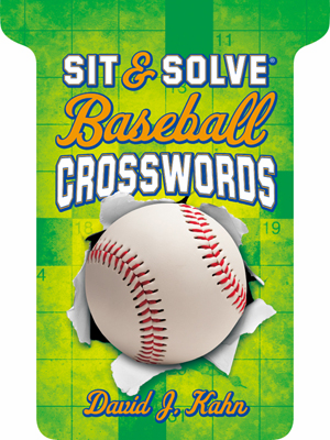 Sit & Solve Baseball Crosswords Book