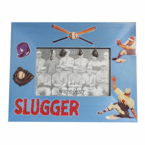 Slugger Baseball Photo Frame<br>LESS THAN 5 LEFT!
