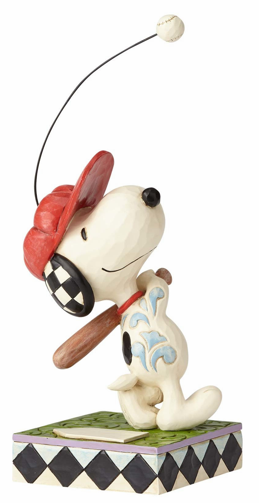 Beagle At Bat Snoopy Baseball Figurine<br>BRAND NEW DESIGN!<br>ONLY 7 LEFT!