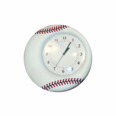 Soft Baseball Wall Clock