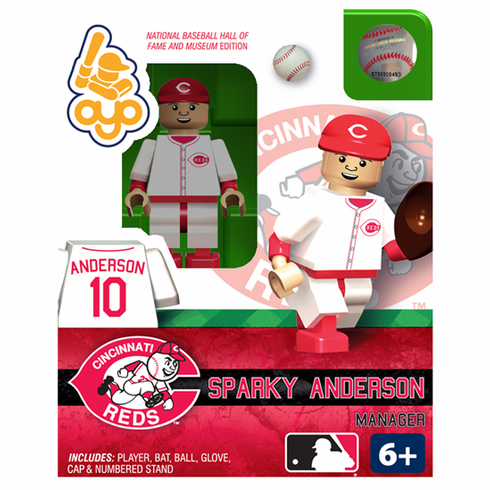 Sparky Anderson Cincinnati Reds Hall of Fame OYO Mini Figure