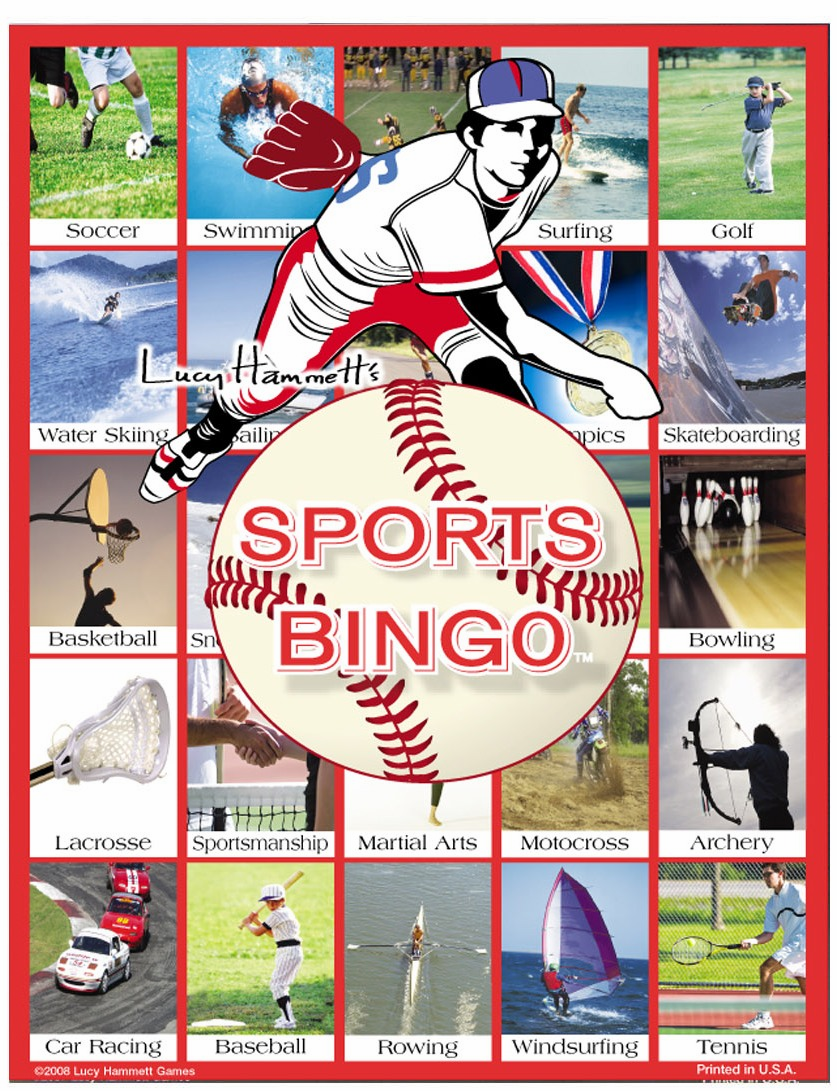 Sports Bingo Game<br>ONLY 1 LEFT!