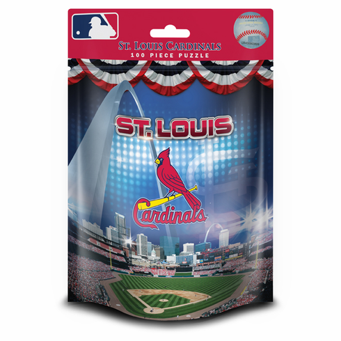 St. Louis Cardinals 100pc Pouch Puzzle<br>ONLY 1 LEFT!