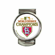 St. Louis Cardinals 2011 World Series Champions Money Clip