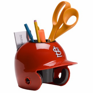 St. Louis Cardinals Baseball Helmet Desk Caddy