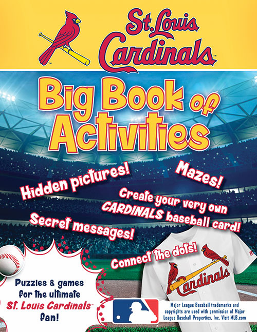 St. Louis Cardinals: The Big Book of Activities<br>ONLY 1 LEFT!