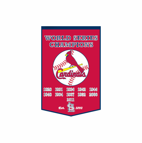 St. Louis Cardinals Wool Dynasty Banner<br>ONLY 1 LEFT!