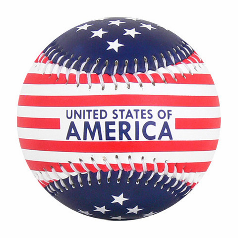 Stars and Stripes USA Flag Baseball