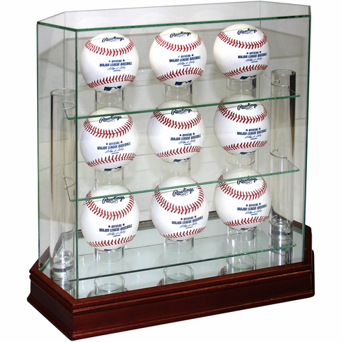 Steiner 9-Ball Glass Baseball Display Case