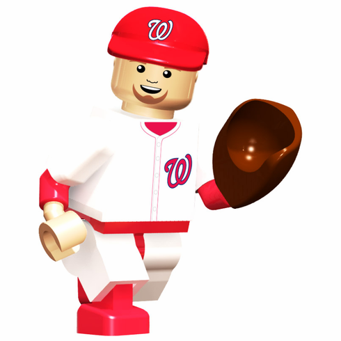 Stephen Strasburg Washington Nationals OYO Mini Figure