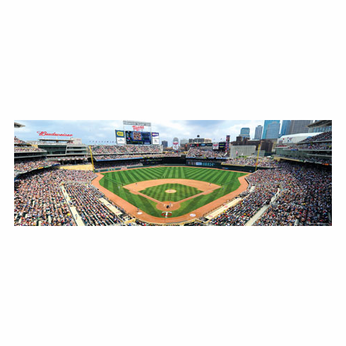 Target Field Minnesota Twins 1000pc Panoramic Puzzle<br>ONLY 1 LEFT!