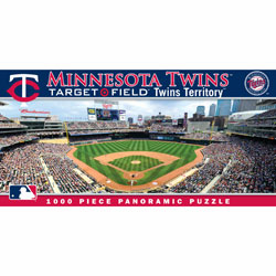Target Field Minnesota Twins 1000pc Panoramic Puzzle<br>ONLY 2 LEFT!
