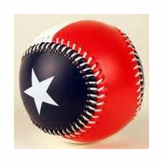 Texas Flag Baseball