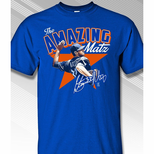 The Amazing Matz Steven Matz T-Shirt<br>Short or Long Sleeve<br>Youth Med to Adult 4X