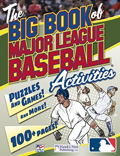 The Big Book of Major League Baseball Activities<br>ONLY 4 LEFT!