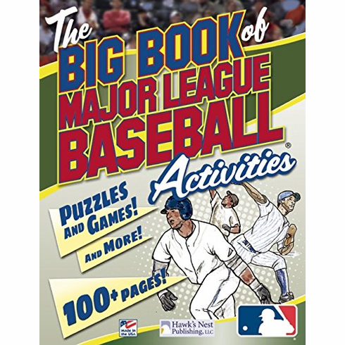 The Big Book of Major League Baseball Activities<br>ONLY 3 LEFT!