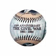 The Civil War Anniversary Baseball