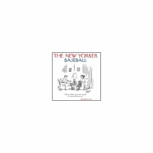 The New Yorker Baseball Cartoons Address Book<br>ONLY 1 LEFT!