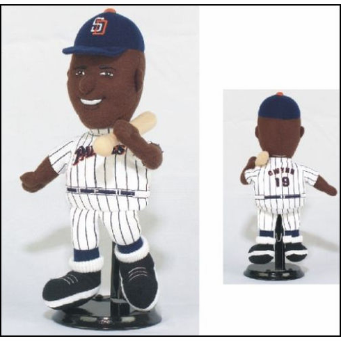 Tony Gwynn #18 San Diego Padres Lookalike Plush Collectible<br>ONLY 1 LEFT!