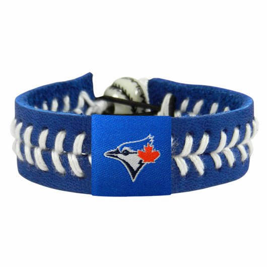 Toronto Blue Jays<br>Baseball Seam Team Colored Bracelet