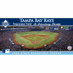 Tropicana Field Tampa Bay Rays 1000pc Panoramic Puzzle<br>ONLY 2 LEFT!