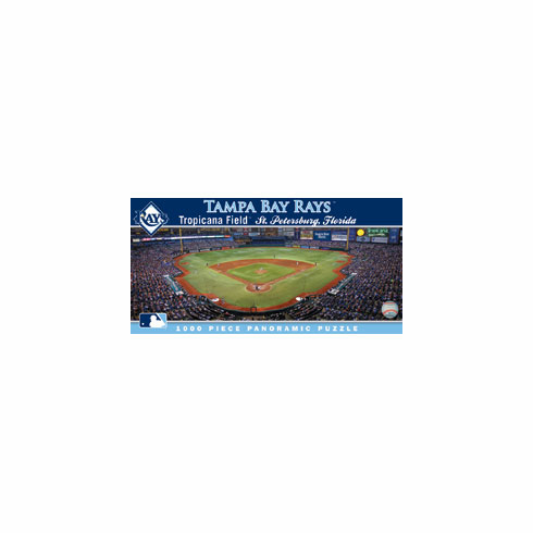 Tropicana Field Tampa Bay Rays 1000pc Panoramic Puzzle<br>ONLY 4 LEFT!