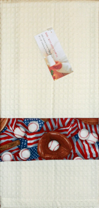 USA Baseball Kitchen Towel