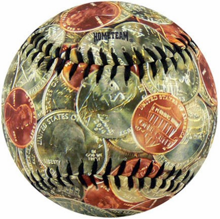 USA Coin Currency Baseball