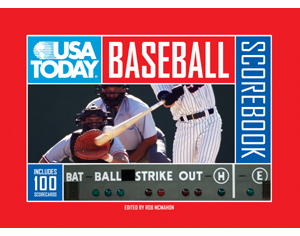 USA TODAY� Baseball Scorebook<br>ONLY 1 LEFT!
