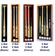 Vertical Bat and Baseball Display Case Locking Cabinet Holders Rack w/ UV Protection<br>5 SIZES!<br>4 WOOD COLORS!