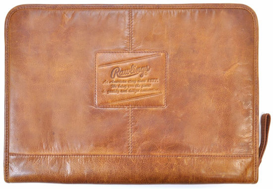 Vintage Baseball Glove Leather Rugged Folio by Rawlings<br>3 COLOR OPTIONS!