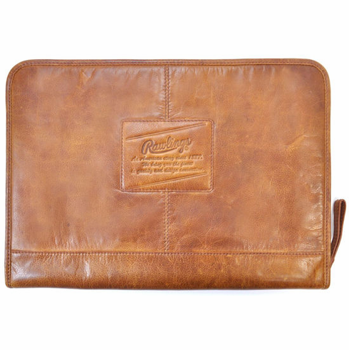 Vintage Baseball Glove Leather Folio By Rawlings