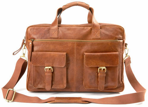 Vintage Baseball Glove Leather Rugged Briefcase by Rawlings