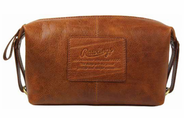 Vintage Baseball Glove Leather Rugged Travel Kit by Rawlings