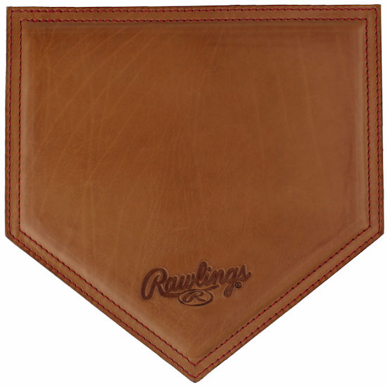 Vintage Tan Leather Baseball Mousepad by Rawlings