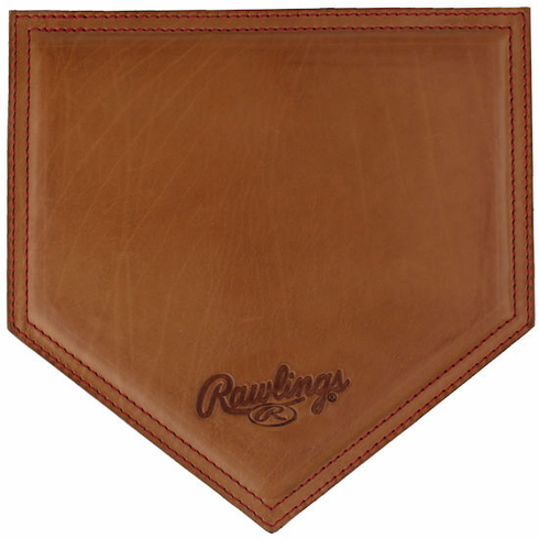 Vintage Tan Leather Baseball Mousepad by Rawlings<br>LESS THAN 6 LEFT!