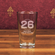 Wade Boggs #26 Etched Baseball 16oz Mixing Glass