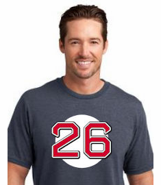 Wade Boggs #26 T-Shirt<br>Choose Your Color<br>Youth Med to Adult 4X