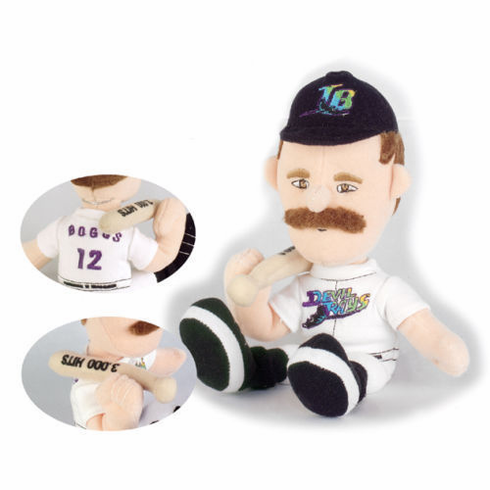 Wade Boggs 3000 Hits Limited Edition Tampa Bay Devil Rays Lookalike Plush Collectible<br>ONLY 1 LEFT!