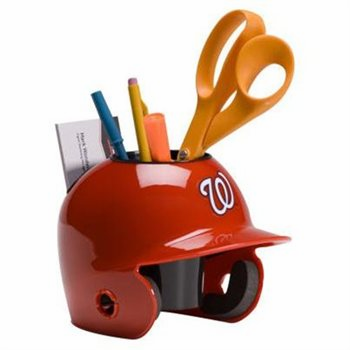 Washington Nationals Baseball Helmet Desk Caddy<br>ONLY 3 LEFT!