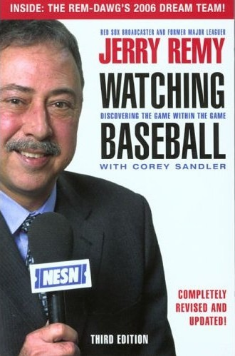 Watching Baseball<br>by Jerry Remy<br>ONLY 1 LEFT!