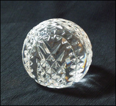 Waterford Crystal Baseball<br>ONLY 3 LEFT!