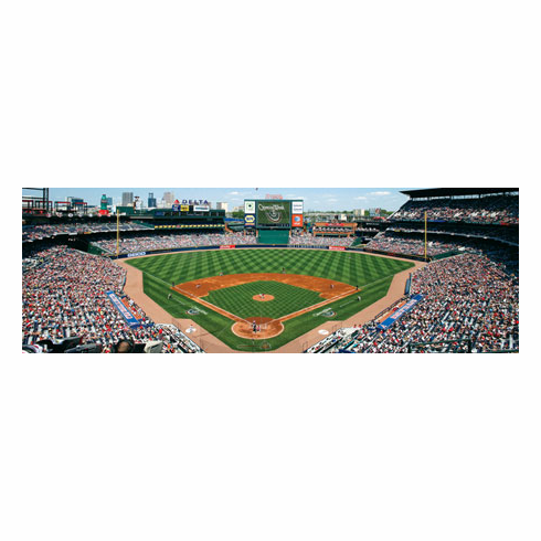 WEEKLY SPECIAL #13<br>Turner Field Atlanta Braves 1000pc Panoramic Puzzle<br>ONLY 3 LEFT!